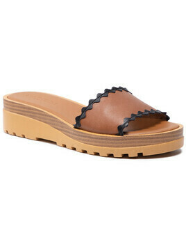 Klapki SEE BY CHLOÉ - SB36121A Light Brown 533/Blk 999