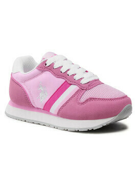 Sneakersy U.S. POLO ASSN. - Sand NOBIK4246S0/TH1 Pink/Whi