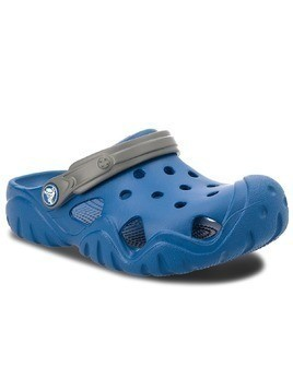 Klapki CROCS - Swiftwater Clog K 202607 Blue Jean/Slate Grey