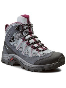 Trekkingi SALOMON - Authentic Ltr Gtx GORE-TEX W 373261 Pearl Grey//Grey Denim/Mystic Purple