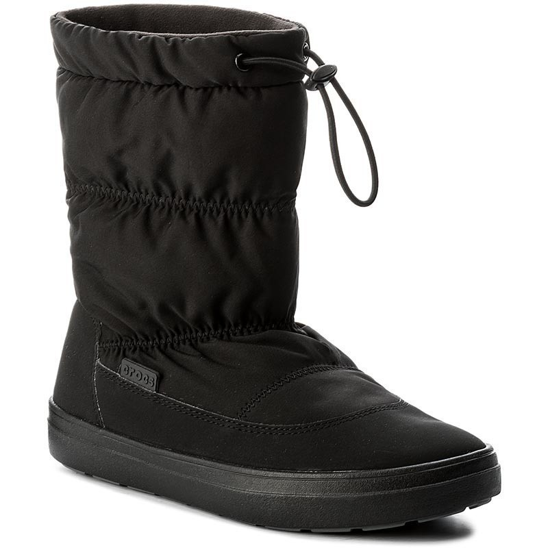 Śniegowce CROCS - Lodgepoint Pull-On Boot 203422 Black
