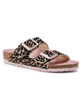 Klapki BIRKENSTOCK - Arizona Kids 1017401 Leo Lilly Brown Rose