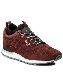 Sneakersy PEPE JEANS - Boston Treck PMS30383 Bordeaux 298