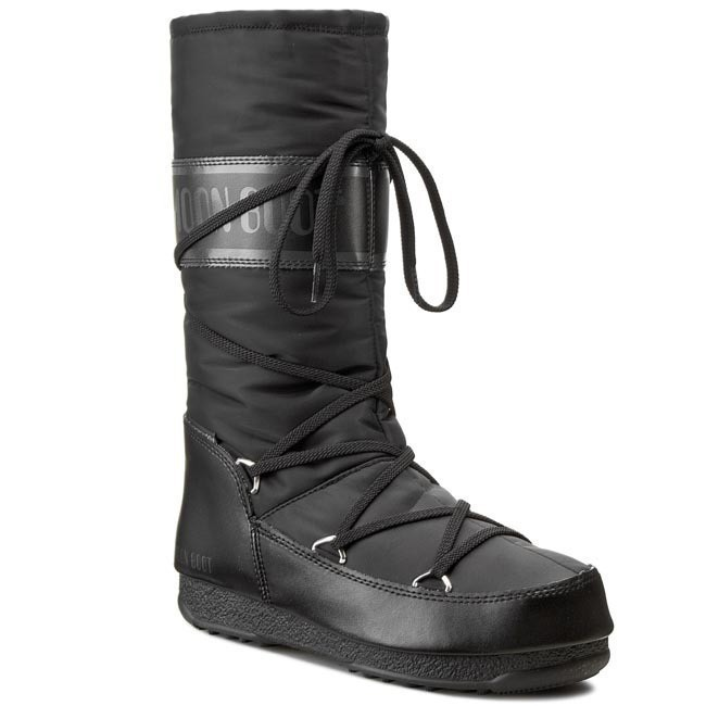 Śniegowce MOON BOOT - W. E. Soft Shade 24004500001 Black