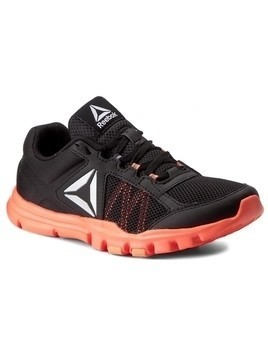 Buty Reebok - Yourflex Trainette 9.0 Mt BS8042 Black/Guava Punch