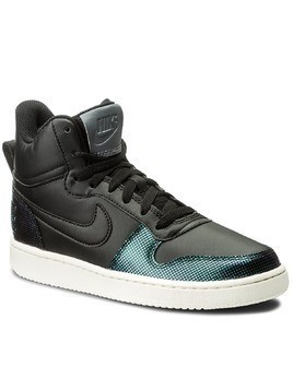 Buty NIKE - Court Borough Mid Se 916793 001 Black/Black/Dark Grey/Sail