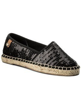 Espadryle TAMARIS - 1-24650-20 Black Sequins 021