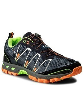 Trekkingi CMP - Atlas Trail Shoes 3Q95267 Navy/Mint/Orange Pluo