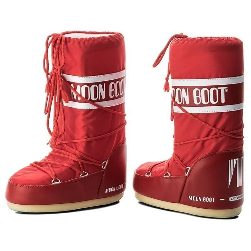 Śniegowce MOON BOOT - Nylon 14004400003 Rosso D