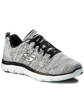 Buty SKECHERS - High Energy 12756/WBK White Black