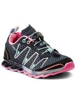 Trekkingi CMP - Kids Atlas Trail Shoes 3Q95264K Navy/Pink 98BD