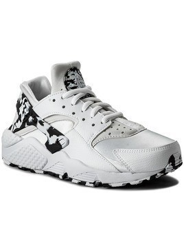 Buty NIKE - W Air Huarache Run Se 859429 100 White/Black/White/Black
