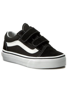 Półbuty VANS - Old Skool V VN000VHE6BT Black/True White