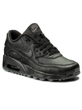 Buty NIKE - Air Max 90 Ltr Se GG 897987 001 Black/Black/Dark Grey