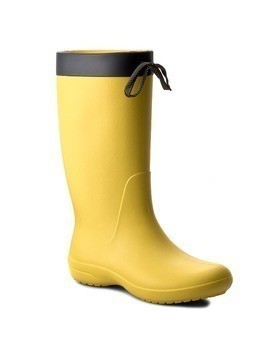 Kalosze CROCS - Freesail Rain Boot 203541 Lemon