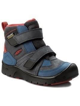 Trzewiki KEEN - Hikeport Mid Strap Wp 1017998 Dress Blues/Blue Nights