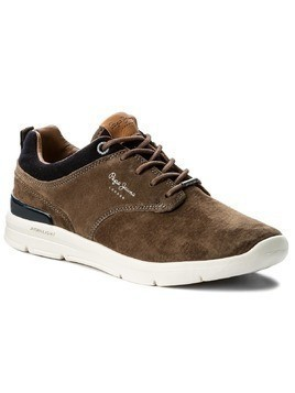 Sneakersy PEPE JEANS - Jayden Suede PMS30389 Stag 884