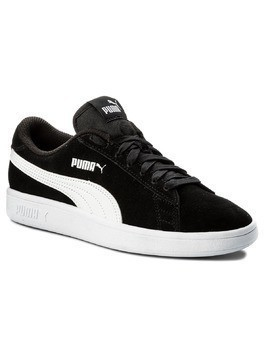 Sneakersy PUMA - Smash v2 Sd Jr 365176 01 Puma Black/Puma White