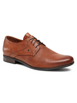 Półbuty LASOCKI FOR MEN - MB-MOSE-S16-04 Brown