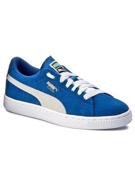 Sneakersy PUMA - Suede Jr 355110 02 Snorkel Blue/White