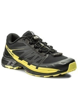 Buty SALOMON - Wings Pro 2 399668 27 W0 Black/Sulphur Spring/Black