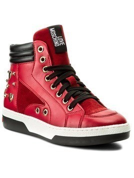 Sneakersy LOVE MOSCHINO - JA15313G04JB250A Rosso