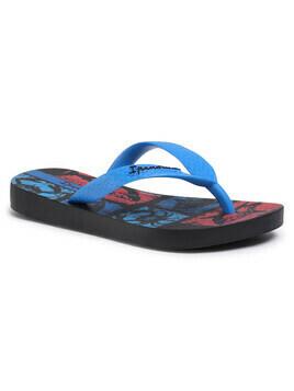 Japonki IPANEMA - Temas XIII Kids 82773 Black/Blue/Red 22086