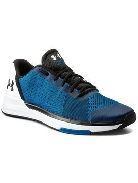 Buty UNDER ARMOUR - Ua Showstopper 1295774-899 Csb/Wht/Blk