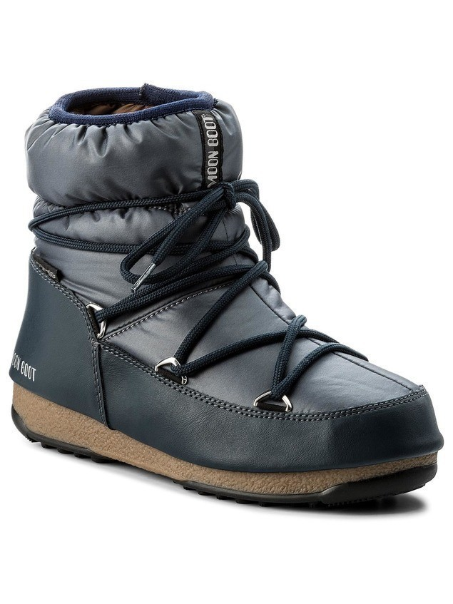 Śniegowce MOON BOOT - W.E. Low Nylon Wp 24006200006 Blue Denim