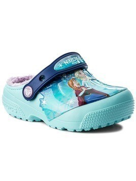 Kapcie CROCS - Funlab Lined Frozen Clog 204705 Ice Blue