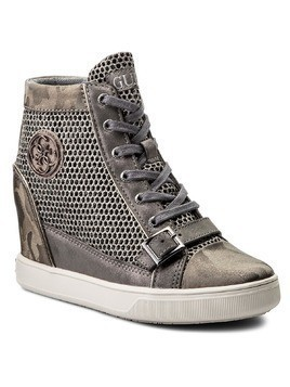 Sneakersy GUESS - Fiore FLIOE1 FAM12 GREY