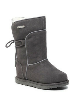 Buty EMU AUSTRALIA - Airlie K12100 Anthracite