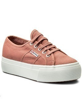 Tenisówki SUPERGA - 2790 Acotw Linea Up And Down S0001L0 Dusty Rose C06