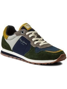 Sneakersy PEPE JEANS - Verona W Mix PLS30542 Navy 595