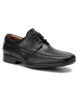 Półbuty CLARKS - Francis Air 203526517 Black Leather
