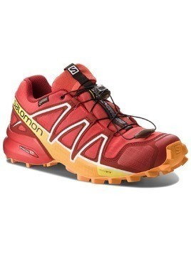 Buty SALOMON - Speedcross 4 Gtx GORE-TEX 400932 27 G0 Fiery Red/Red Dalhia/Bright Marigold