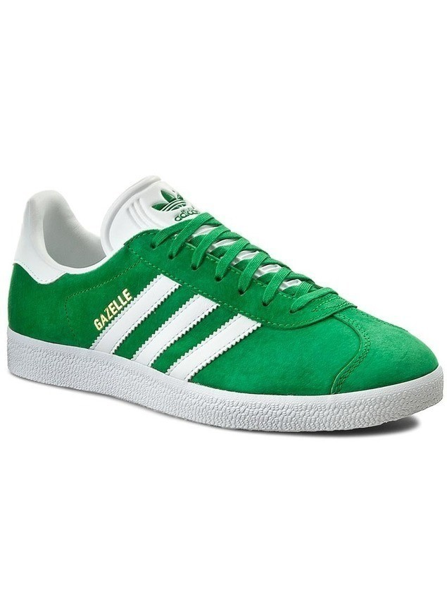 Buty adidas - Gazelle BB5477 Green/White/Goldmt