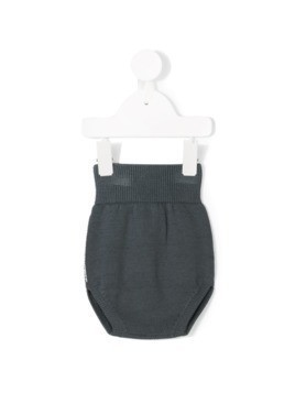 Message In The Bottle hi knitted bloomers - Blue