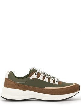 A.P.C. Jay lace-up sneakers - Green