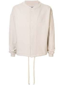 Makavelic Basketball sweat bomber jacket - NEUTRALS