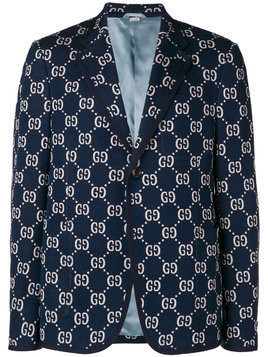Gucci GG formal jacket - Blue
