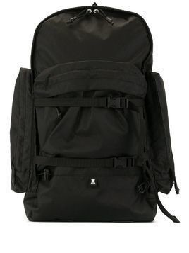Makavelic cargo pocket backpack - Black