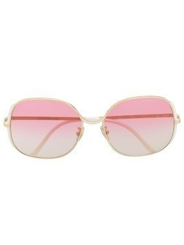 Cutler & Gross multi gradient sunglasses - GOLD