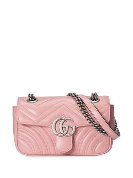 Gucci GG Marmont matelasse shoulder bag - PINK