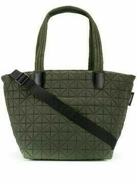 VeeCollective geometric shoulder bag - Green