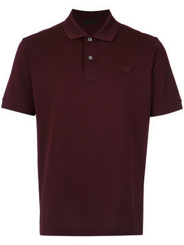 Prada short-sleeve polo shirt - Red