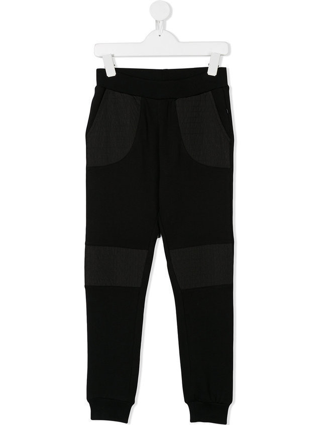 Philipp Plein Junior embellished jogging pants - Black