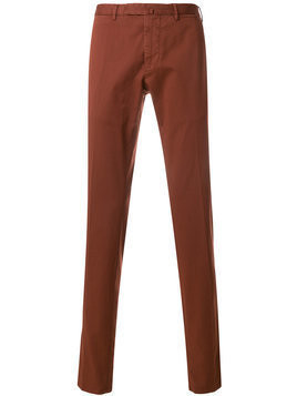Biagio Santaniello slim trousers - Red
