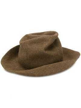 Horisaki Design & Handel crushed felt hat - Brown