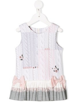 Lapin House bow detail dress - Pink